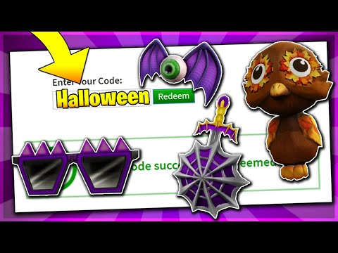 *HALLOWEEN* ALL WORKING PROMO CODES ON ROBLOX 2019| OCTOBER PROMO CODE (NOT EXPIRED)