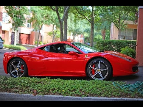 Ferrari 458 Italia 2013 model review