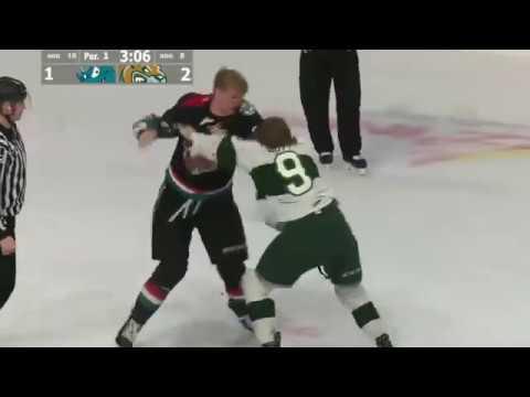 Kyle Pow vs Dawson Butt