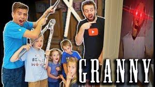 Video Escaping Granny's GIANT MANSION! MP3, 3GP, MP4, WEBM, AVI, FLV September 2019
