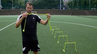 Quickplay Sport Quick Click Trainingshürden, 6 Stück