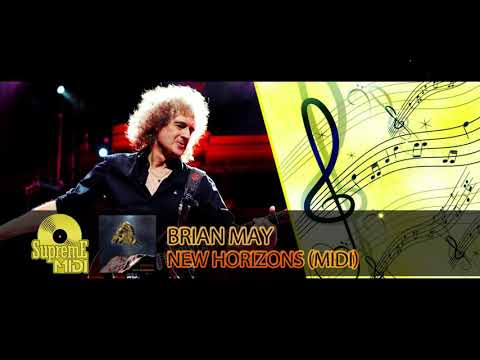 "Brian May - NEW HORIZONS (ULTIMA THULE MIX) (FULL MIDI REMAKE) - ""in the style of"""
