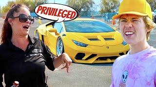 Taking My 1000HP Lamborghini To A Car Show! (She Was Pissed)