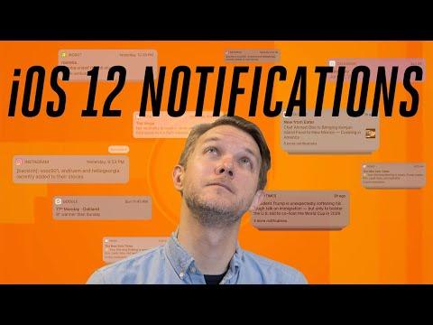 iOS 12: How Apple overhauled iPhone notifications