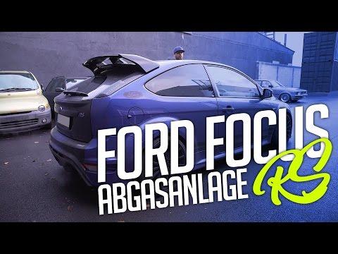JP Performance - Ford Focus RS MK2   Klappenabgasanlage