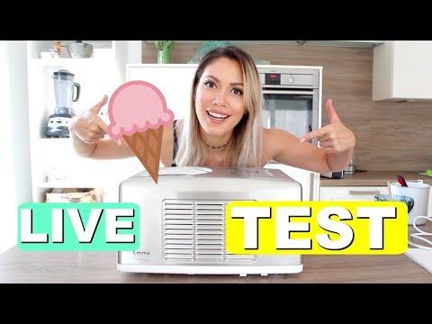 Eis wie in der Eisdiele? Eismaschine UNBOXING & Live Test | yummypilgrim
