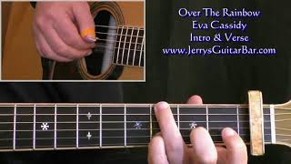 How To Play the Intro to Eva Cassidy Over The Rainbow