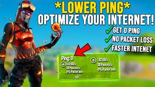 How To Lower Ping in Fortnite - Get 0 Packet Loss/Network Optimization Guide! (Chapter 2 Season 5)
