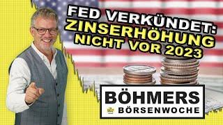 US-Notenbank-Chef Jerome Powell verkündet: Voraussichtlich keine Zinserhöhung bis 2023