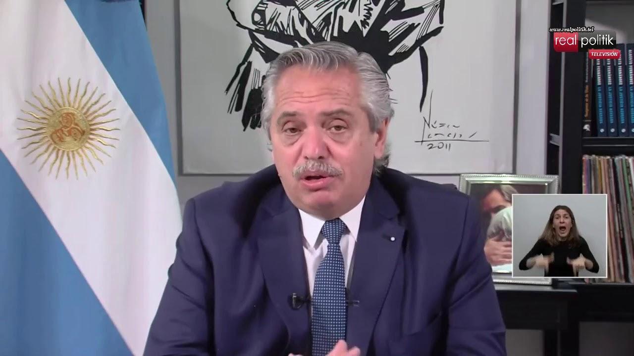 Cumbre de Cambio Climático: Alberto Fernández diserta en la Cumbre de Líderes