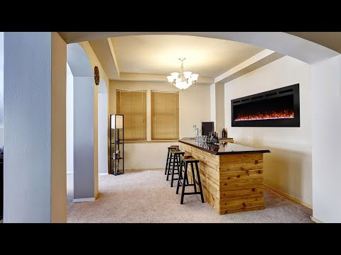 SimpliFire® Allusion Electric Fireplace