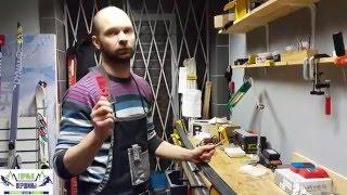 Видео: Подготовка беговых лыж. Часть 2. Нанесение парафина