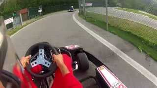 preview picture of video 'kart Ronco  Scrivia pista OMP'