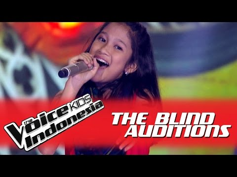 "Nabila ""Tiba-Tiba Cinta Datang"" I The Blind Auditions I The Voice Kids Indonesia GlobalTV 2016 - The Voice Kids Indonesia GTV"