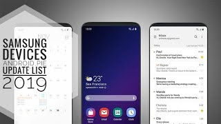 Samsung device android pie update list 2019 || samsung one ui || j6, a7, j7 pro, j7 max, m10, m20