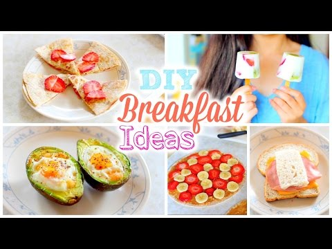 Video DIY Easy and Quick Back to School Breakfast Ideas | Healthy Breakfast Recipes