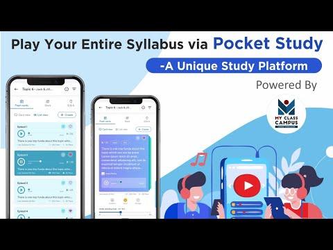 Pocket Study - Basic Overview & Usecases