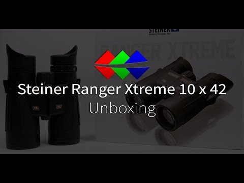 Steiner Ranger Xtreme / Predator 10x42 Unboxing (4K)