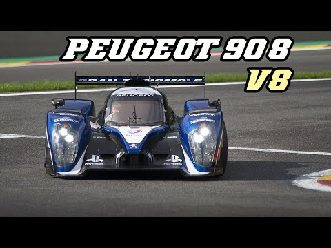 2011 Peugeot 908 HDI V8 - racing at Spa 2017