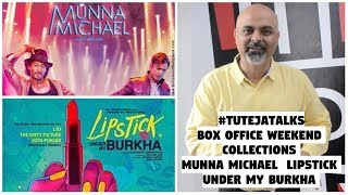 Box Office Weekend Collections - Munna Michael, Lipstick Under My Burkha