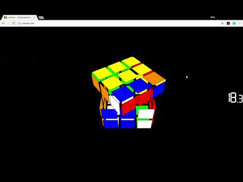 WEIRDEST 3x3 I HAVE EVER SOLVED | cstimer Virtual Cube - смотреть