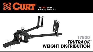 CURT (17500): TruTrack Weight-Distribution Hitch with Sway Control