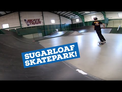 ANTI GRAVITY CENTER SKATEBOARDING! (Sugarloaf Skatepark)