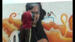 Graffiti cantautor Jep Cardona