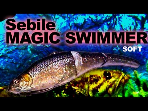 Sebile Magic Swimmer Soft 160 videó