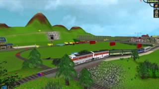 Rule The Rail! Train Sim - my system :)