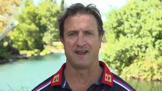 Western Bulldog's Luke Beveridge on Talk. Share. Support