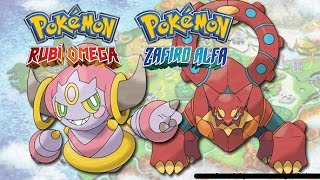 Hoopa  - (Pokémon) - Como conseguir a Hoopa y a Volcanion en pokemon Rubi Omega/Zafiro alfa