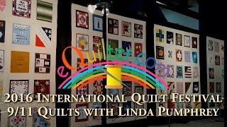 Luana Rubin presents the 9/11 Quilts with Linda Pumphrey at the 2016 IQA