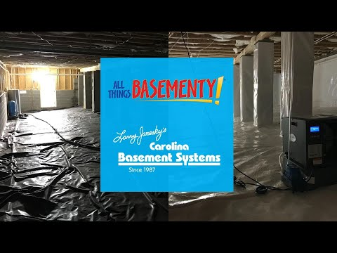 Humid Crawl Space Transformation in Summerfield, NC