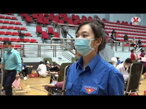 Đoàn than Quảng Ninh: Hiến máu an toàn - Đừng ngại Covid 19