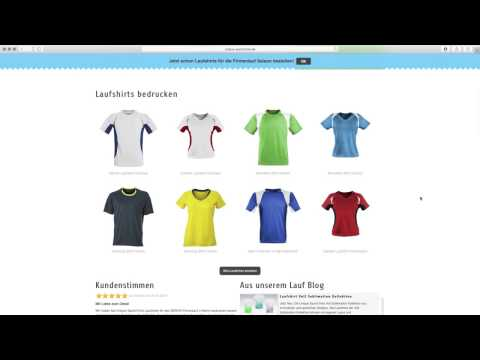 Firmen Laufshirts bedrucken   UniqueSportsTime Erklärfilm