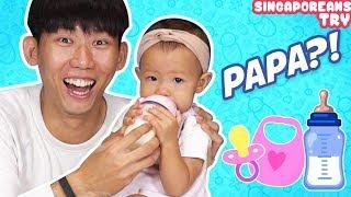Singaporean (Guys) Try: Daddy Duties!