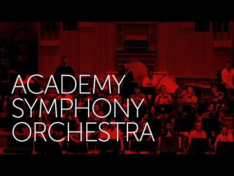 Sir Mark Elder conducts the Academy Symphony Orchestra