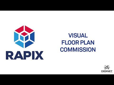 Rapix integrator introduces visual floor plan commission