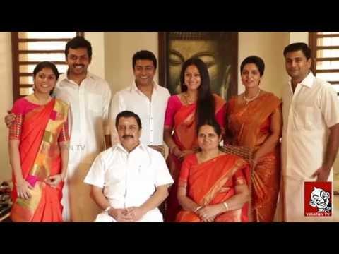 Actor Sivakumar family photo shoot   Surya   Karthi   Jyothika
