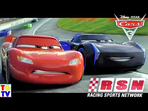 Disney Pixar Cars Racing Sports Network Episodes 16 - 20