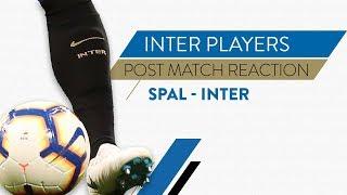 SPAL-INTER 1-2   Icardi, Skriniar and Handanovic interviews   Post-match reaction