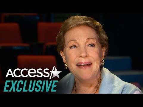 Julie Andrews Admits She 'Was A Little Tart With [Her] Language' After Fall On 'Mary Poppins' Set