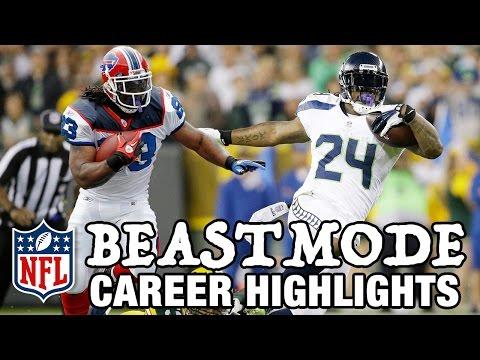 "Marshawn Lynch ""Beast Mode"" Career Highlights | NFL"