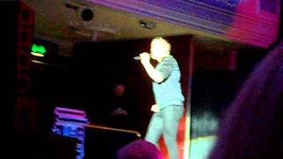 Real Late Starter - Joe McElderry - Dundee Caird Hall 20/11/11