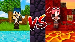 Minecraft ITA - PARADISO VS INFERNO - SERIE SURVIVAL