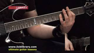 Blood Drunk - Children Of Bodom - Guitar Lesson with Andy James