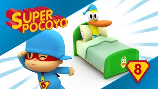 Super Pocoyo shows us the importance of a good sleep