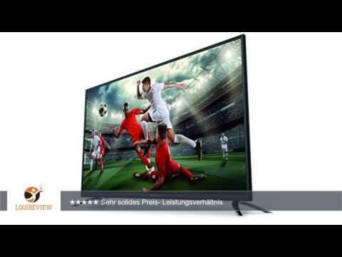 STRONG SRT 49FX4003 124,5 cm (49 Zoll) LED-Fernseher, Full HD (DVB-T/T2/C/S/S2 Tuner, CI+ Einschub,