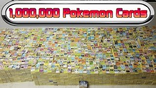 ONE MILLION POKEMON CARDS!!!